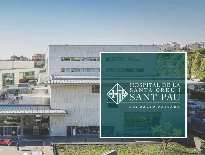 Fundación Privada Hospital de la Santa Creu i Sant Pau software para gestión de eventos y reservas