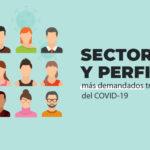 Sectores y perfiles más demandados tras la crisis del Covid 19