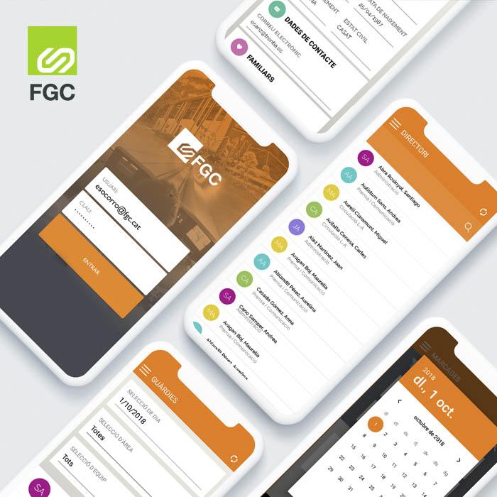 FGC Approp. Nueva app de éxito de FGC