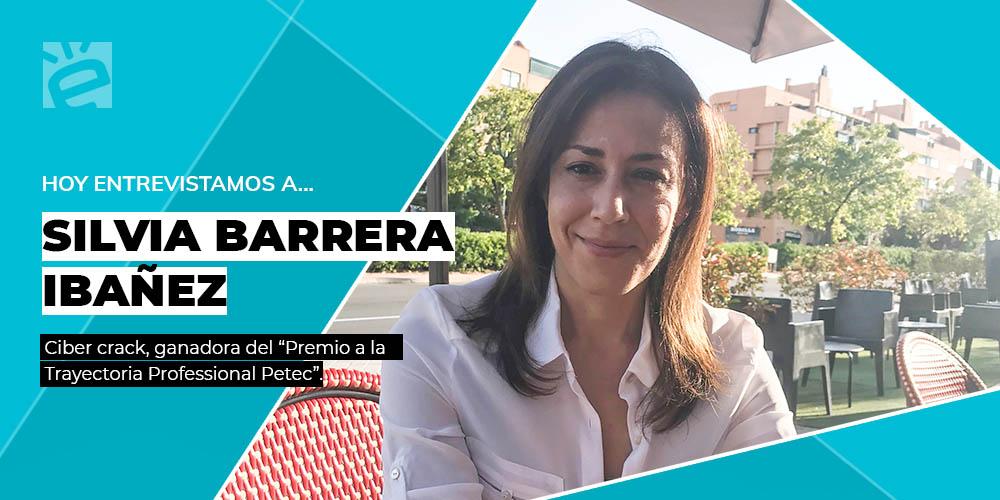 Entrevista a Sílvia Barrera, cibercrack ganadora Premio Petec a la Trayectoria Profesional