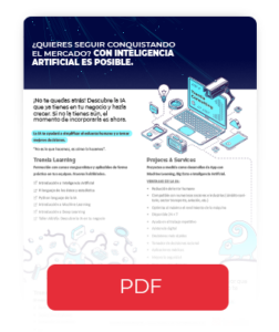 Descargar brochure Inteligencia Artificial