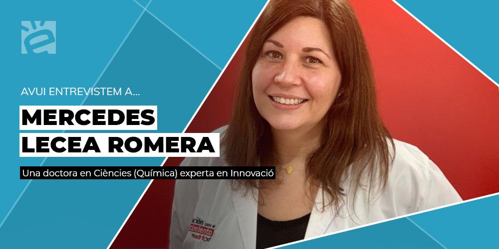Avui entrevistem a… Mercedes Lecea Romera Una dona en la Ciència i la Innovació