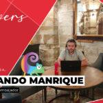 Fernando Manrique, primer embajador además de Trentia Lovers