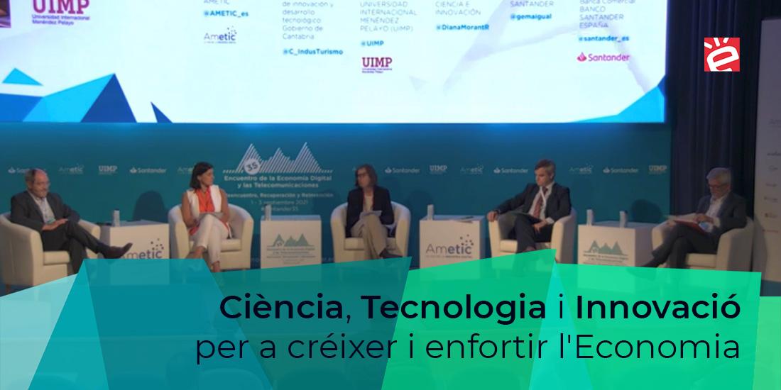 Ciencia, Tecnologia i Innovación para crecer y fortalecer la Economia.